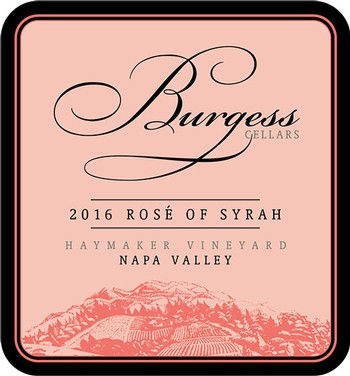 2016 Rose of Syrah